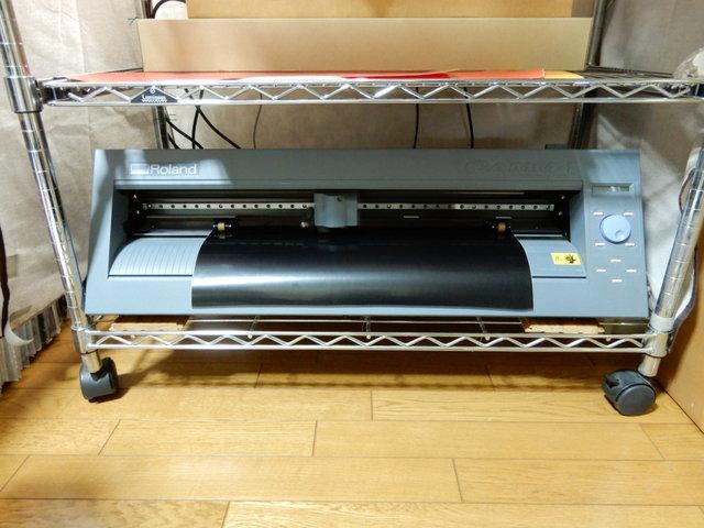 RolandDGのカッティングプロッタCAMM-1 CX-24