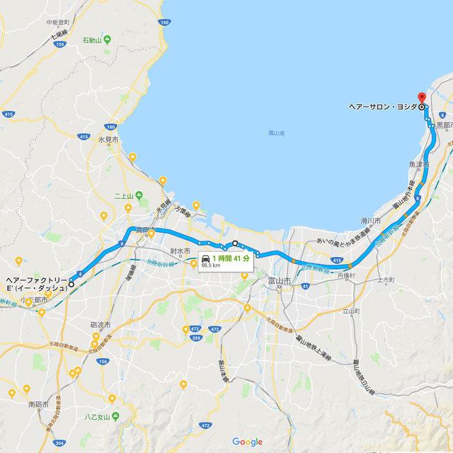 66.5kmとの事