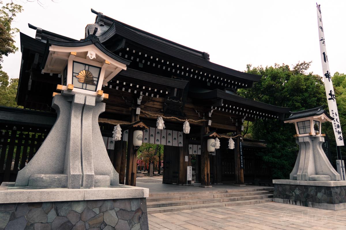 平成最後の日に撮影した湊川神社