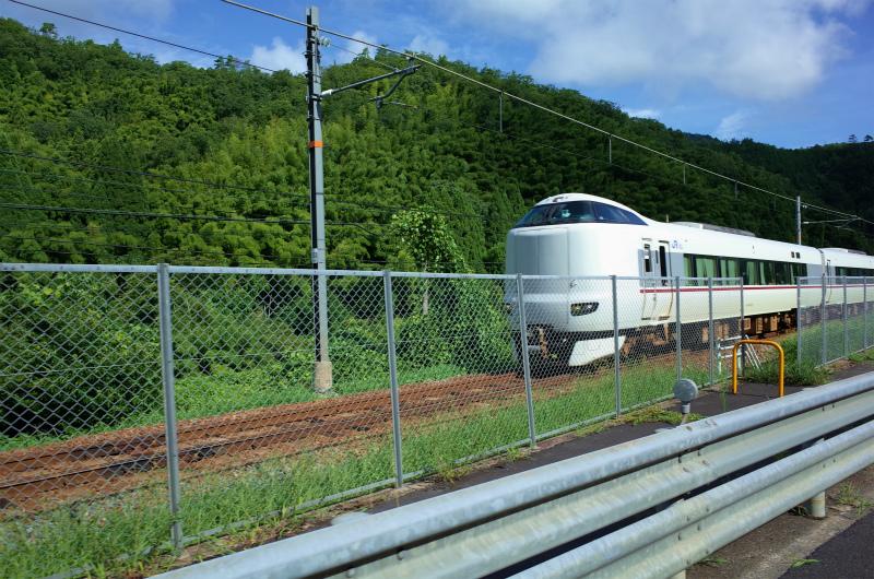 JR舞鶴線(舞鶴市:真倉)