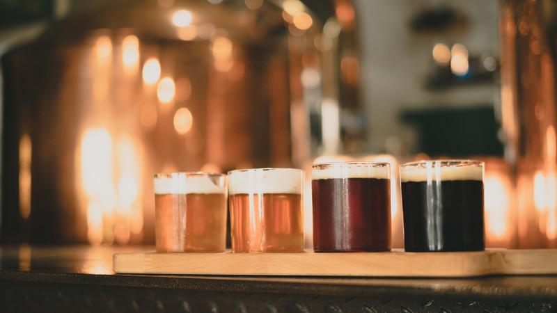 蔵出しビール。チェコ共和国