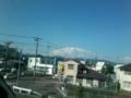 富士山見えないm(__)m