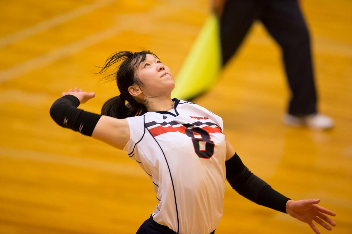 2015 全日本インカレバレー 中屋夏澄選手、 - クローバー