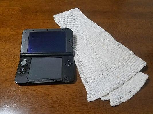 乾いた布と3DS