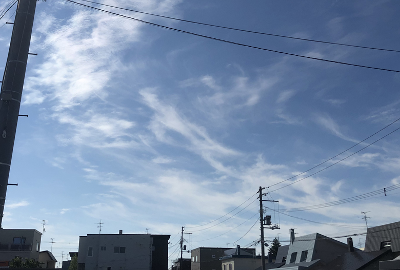 大天使ミカエルとも思える雲の正体は