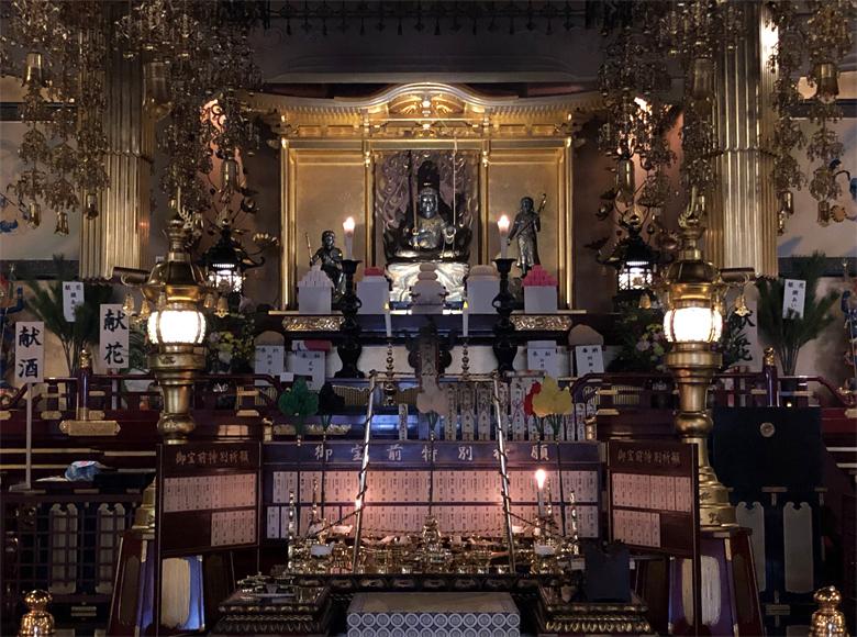 成田山札幌別院新栄寺 不動明王の画像