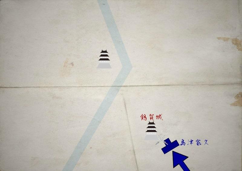 鶴賀城を攻撃する島津家久