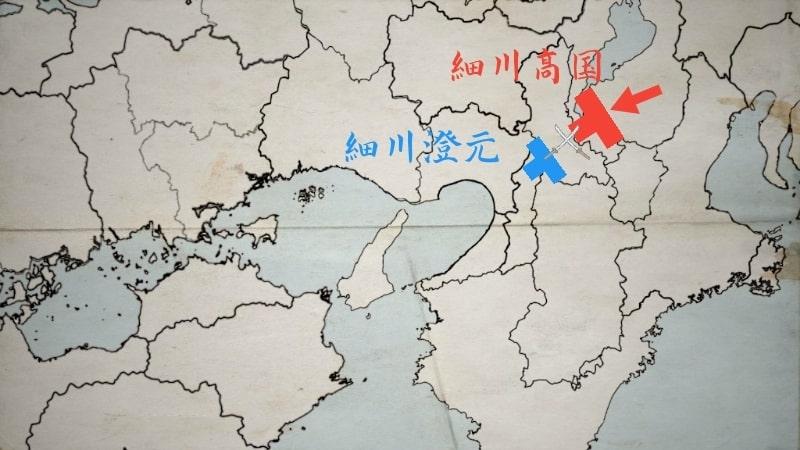 船岡山合戦に勝利する細川高国
