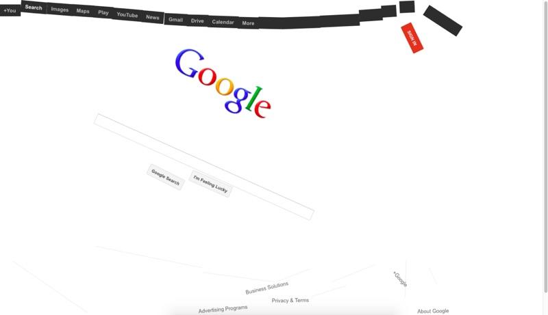 検索 Google Space グーグル 宇宙 無重力