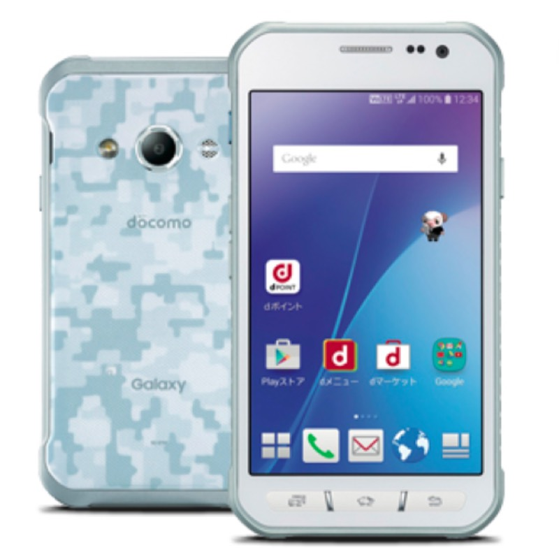Galaxy Active neo SC-01H サムスン ギャラクシー アクティブ ネオ 冬春モデル スマホ スマートフォン docomo ドコモ スペック 性能