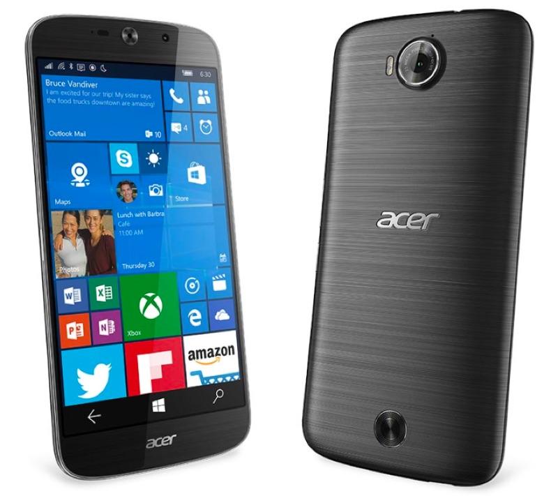 Acer エイサー Liquid Jade Primo リキッド ジェイド プリモ Windows 10 Mobile ウィンドウズ モバイル スマートフォン スマホ スペック 性能 2016年