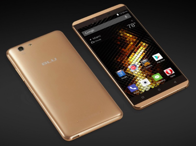 BLU Vivo XL Android アンドロイド スマートフォン スマホ スペック 性能