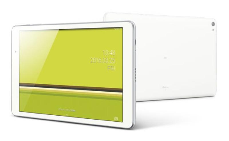 Qua tab 02 HWT31 クア キュア KDDI au エーユー 2016年 春モデル タブレット スペック 性能