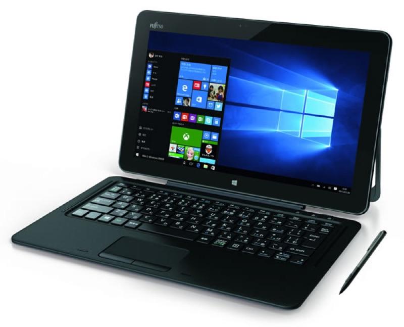 富士通 Fujitsu arrows Tab RH77/X WR1/X Windows 10 タブレット パソコン スペック 性能