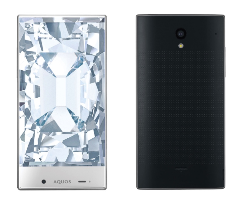Softbank ソフトバンク Sharp シャープ AQUOS CRYSTAL アクオス クリスタル シンプルスタイル プリペイドプラン Android アンドロイド スマートフォン スマホ スペック 性能