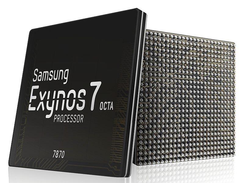 サムスン Samsung Exynos 7 octa 7870 エクシノス CPU プロセッサ SoC 性能