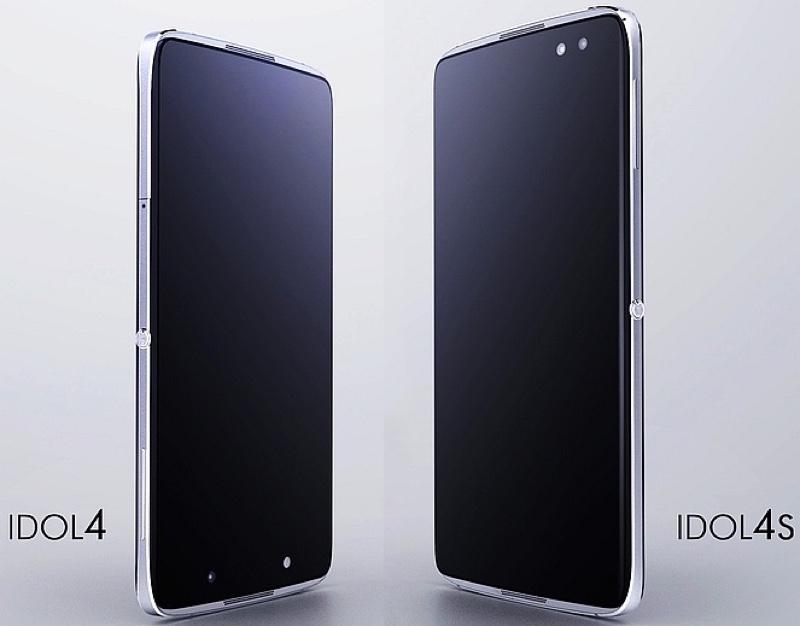 TCL Alcatel Idol 4 4S アルカテル アイドル MWC 2016 Android アンドロイド スマートフォン スマホ スペック 性能