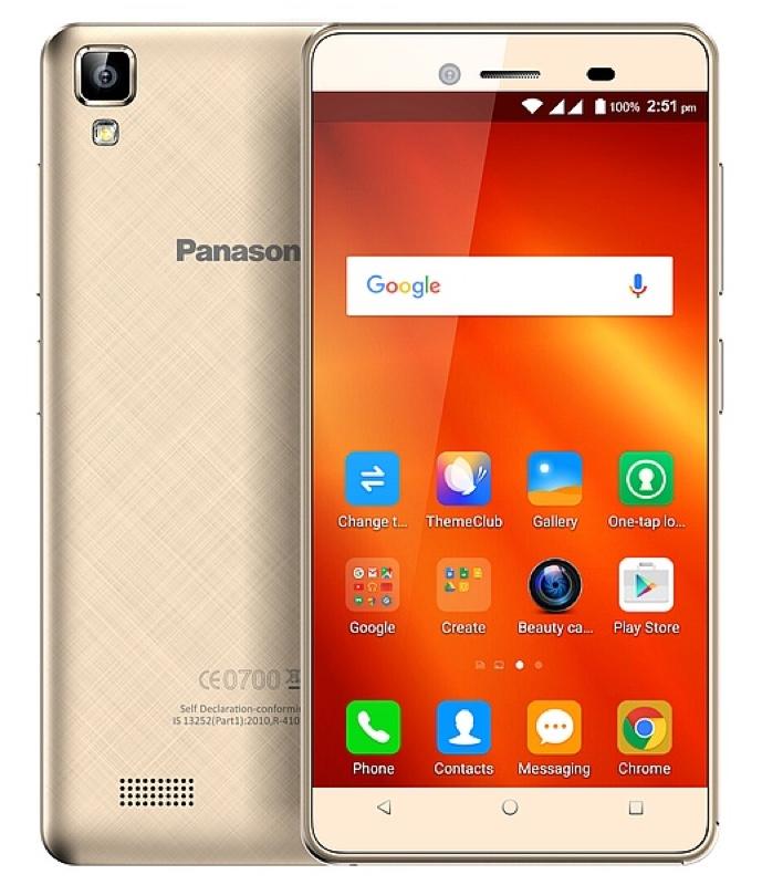 Panasonic パナソニック T50 インド Android アンドロイド スマートフォン スマホ スペック 性能