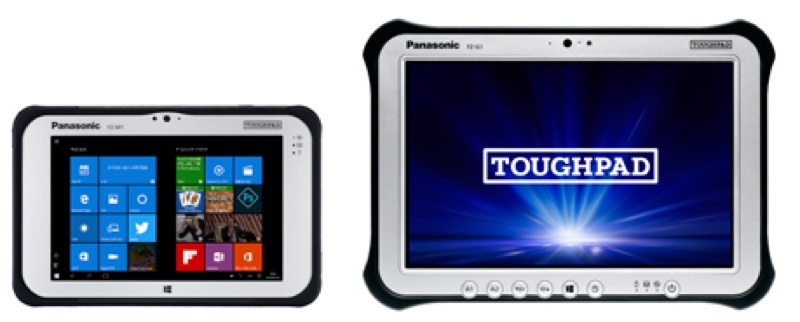Panasonic パナソニック TOUGHPAD タフパッド FZ-M1  FZ-G1 堅牢 高耐久 Windows ウィンドウズ Tablet タブレット スペック 性能
