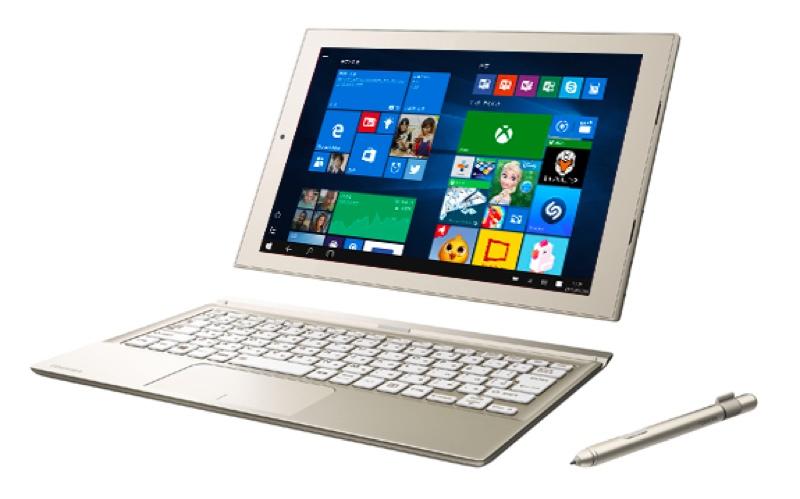 Toshiba 東芝 dynaPad N72/V ダイナパッド Windows ウィンドウズ  Tablet タブレット スペック 性能 2016年 夏モデル
