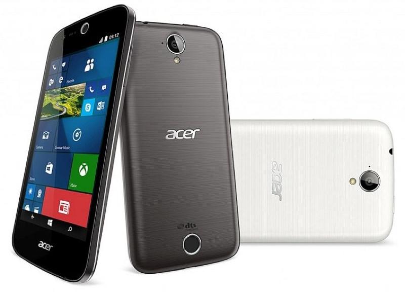 Acer Liquid M330 エイサー リキッド Windows 10 Mobile ウィンドウズ モバイル スマートフォン スマホ スペック 性能 アメリカ US
