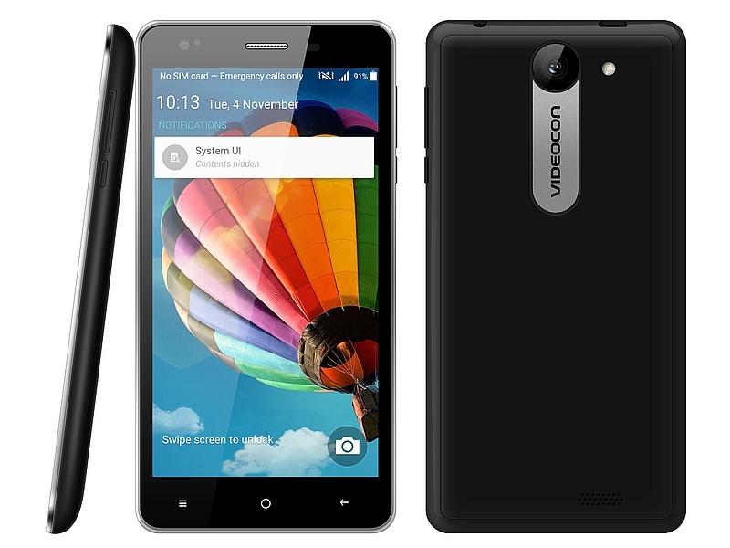 Videocon Krypton V50DA V50DC Android アンドロイド スマートフォン スマホ スペック 性能 2016年 04月 インド