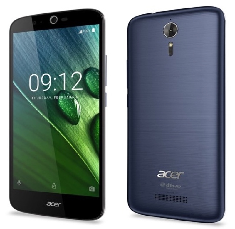 Acer Liquid Zest Plus 5000mAh 大容量バッテリー Android アンドロイド スマートフォン スマホ スペック 性能 2016年 04月