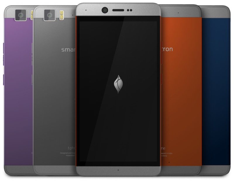 Smartron t.phone スマートロン ティーフォン ティーホン Android アンドロイド スマートフォン スマホ スペック 性能 2016年 05月 インド