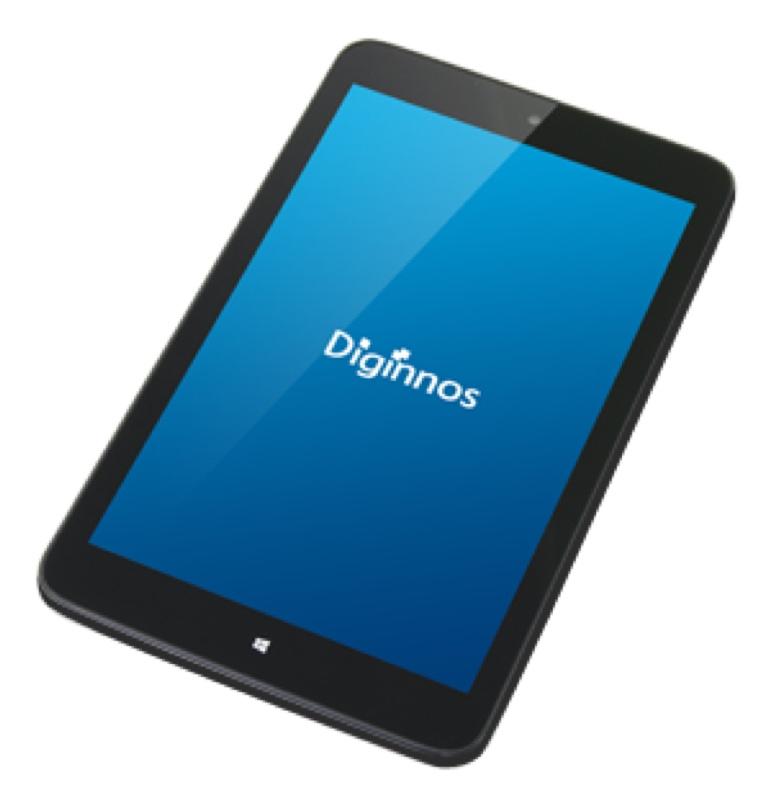 ドスパラ Diginnos DG-D08IW2 デジノス Windows ウィンドウズ  Tablet タブレット スペック 性能 2016年 05月