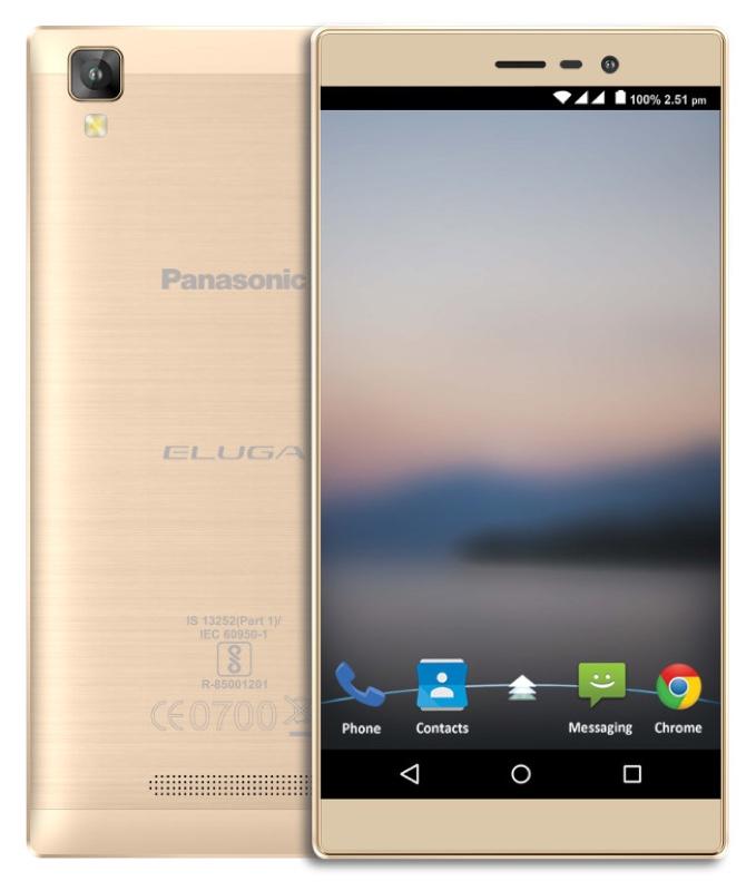 Panasonic Eluga A2 パナソニック エルーガ Android アンドロイド スマートフォン スマホ スペック 性能 2016年 05月