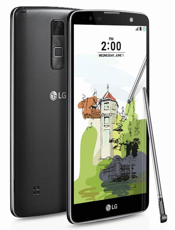 LG Stylus 2 Plus スタイラス プラス Android アンドロイド スマートフォン スマホ スペック 性能 2016年 06月