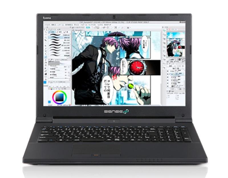 Sen-15FH045-i5T-FES-CSP パソコン工房 iiyama ユニットコム イラスト制作 マンガ制作 Windows ウィンドウズ パソコン PC スペック 性能 2016年
