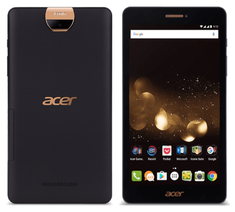 Acer Iconia Talk S A1-734 エイサー イコニア 音声通話 LTE Android アンドロイド Tablet タブレット スペック 性能 2016年