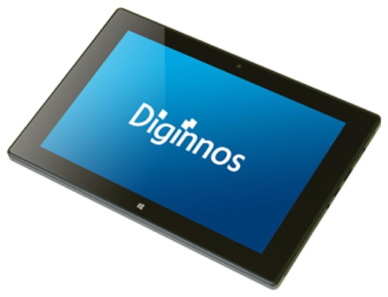 ドスパラ Diginnos DG-D09IW2SL デジノス Windows ウィンドウズ  Tablet タブレット スペック 性能 2016年