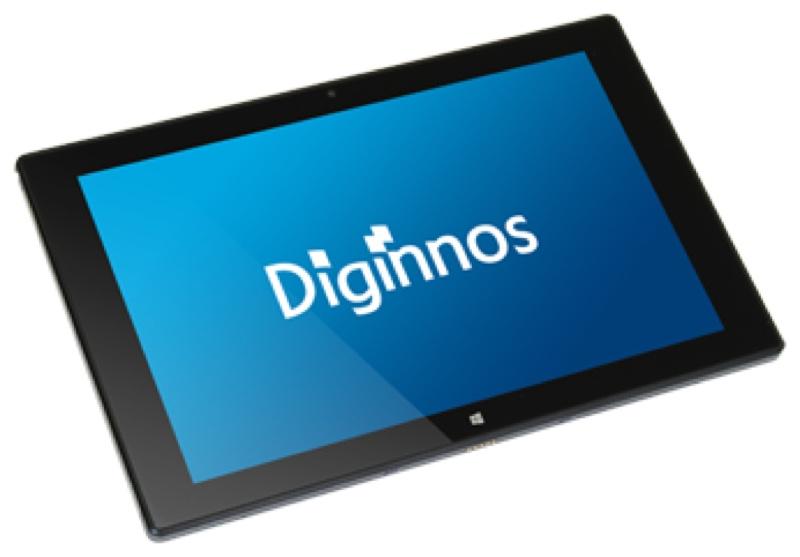ドスパラ Diginnos DG-D10IW3SL デジノス Windows ウィンドウズ  Tablet タブレット スペック 性能 2017年