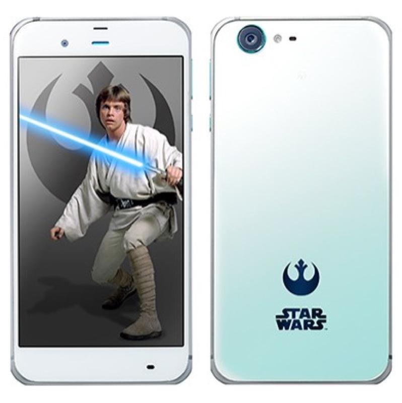 STAR WARS mobile スターウォーズ Softbank ソフトバンク Android アンドロイド スマートフォン スマホ スペック 性能 2016年