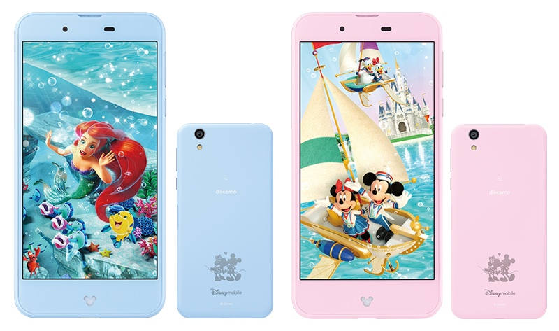 Disney Mobile on docomo DM-01J ディズニー モバイル Android アンドロイド スマートフォン スマホ スペック 性能 2016年 秋冬モデル NTT ドコモ