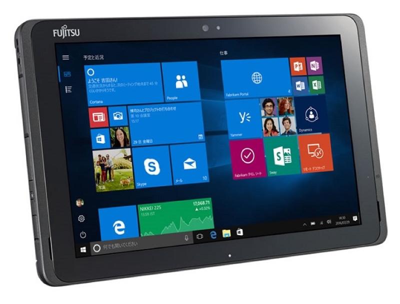 富士通 ARROWS Tab Q507/PE アローズ タブ Windows ウィンドウズ  Tablet タブレット スペック 性能 2016年