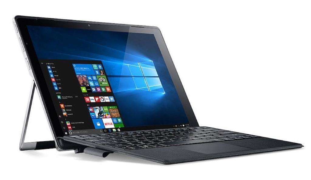 Acer Switch Alpha 12 SA5-271-F58U/F エイサー スイッチ アルファ Windows ウィンドウズ パソコン PC タブレット スペック 性能 2016年