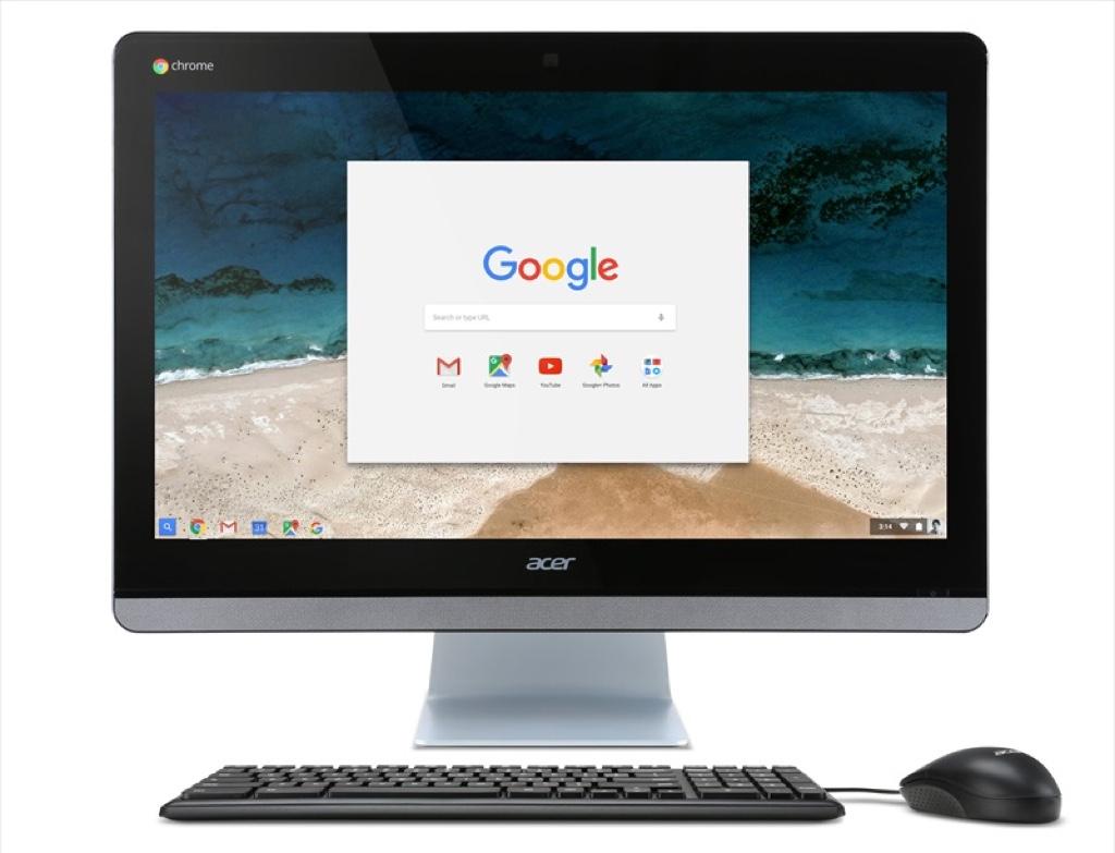 Acer Chromebase 24 CA24I-N14K エイサー ChromeOS 一体型 オールインワン パソコン PC スペック 性能 2016年
