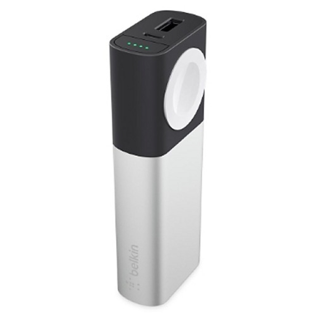 Valet Charger Power Pack 6700mAh for Apple Watch + iPhone Belkin ベルキン モバイルバッテリー