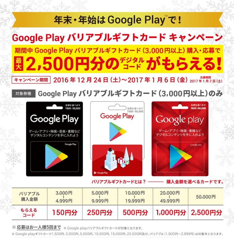 Google Play ギフトカード キャンペーン グーグル Android アンドロイド アプリ ゲーム 映画 音楽 ドン・キホーテ