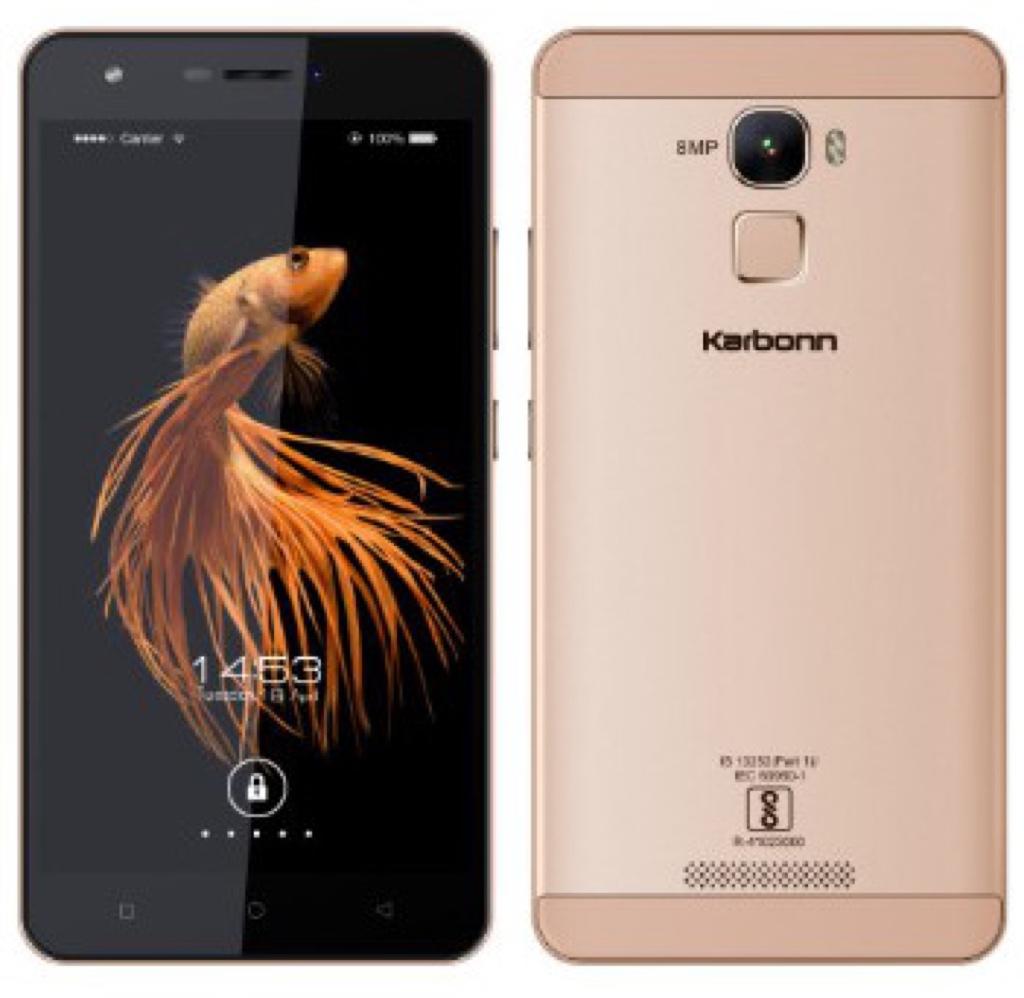 Karbonn Aura Note 4G Android アンドロイド スマートフォン スマホ スペック 性能 2016年