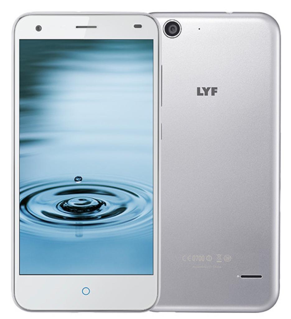 LYF Water 3 Android アンドロイド スマートフォン スマホ スペック 性能 2016年