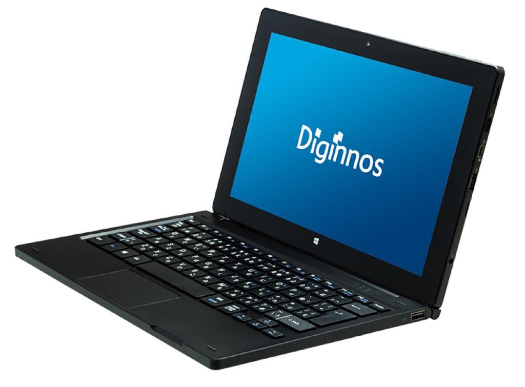 Diginnos DG-D11IWVL  デジノス ドスパラ PCショップ BTO Windows ウィンドウズ  Tablet タブレット スペック 性能 2016年