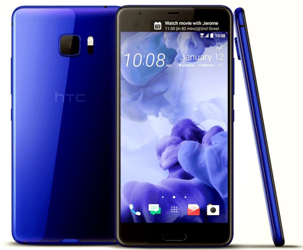 HTC U Ultra Android アンドロイド スマートフォン スマホ スペック 性能 2017年