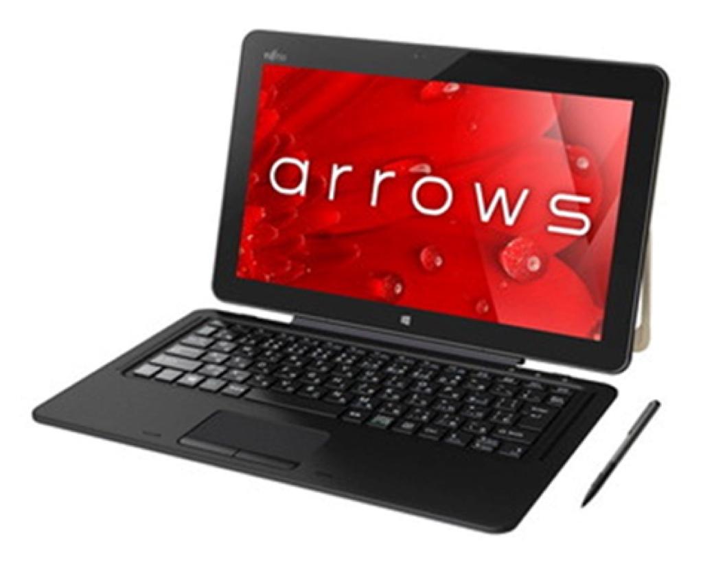 arrows Tab RH77/B1 富士通 アローズ タブ Windows ウィンドウズ  Tablet タブレット スペック 性能 2017年