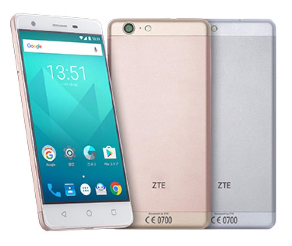 BLADE V770 Android アンドロイド スマートフォン スマホ スペック 性能 2017年