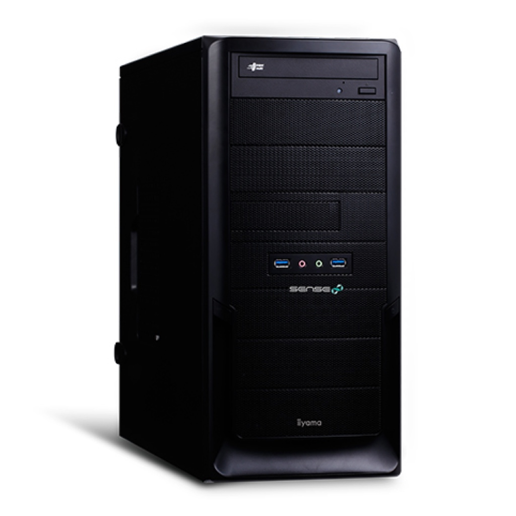 SENSE-R027-i7-RNR パソコン工房 ユニットコム Windows ウィンドウズ デスクトップパソコン デスクトップPC クリエイター向け スペック 性能 2017年