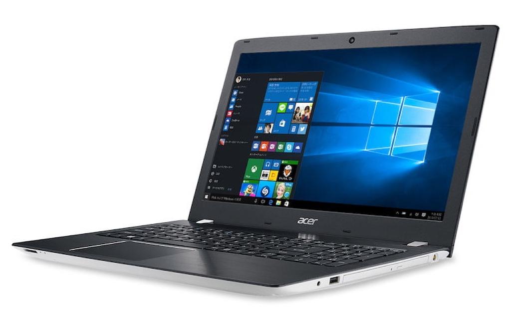 Acer Aspire E 15 Windows ウィンドウズ ノートパソコン ノートPC スペック 性能 2017年 エイサー